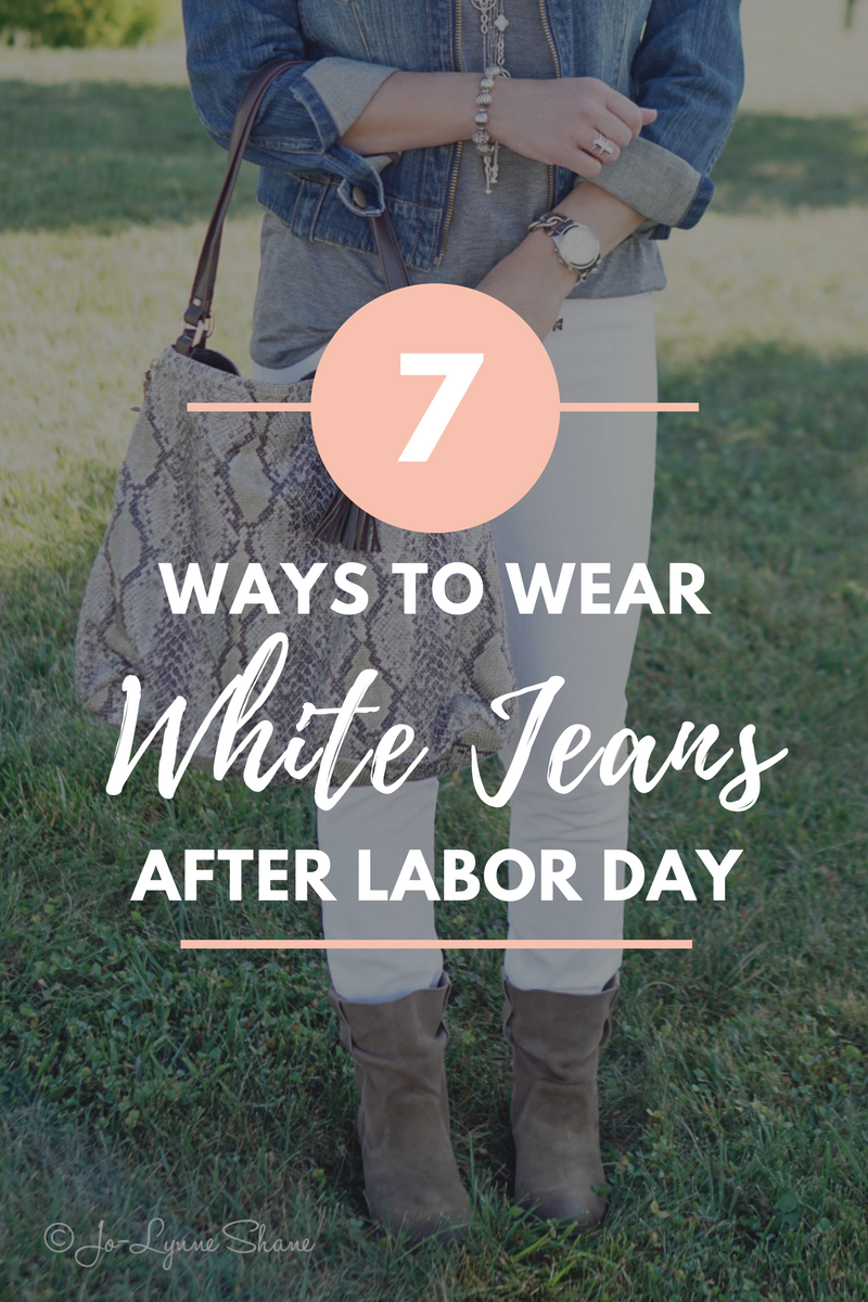 3416afa89b How To Wear White Jeans After Labor Day