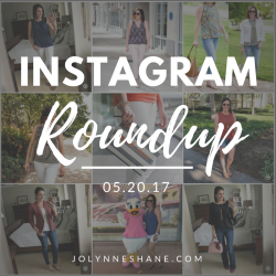 Instagram Roundup 05.20.17