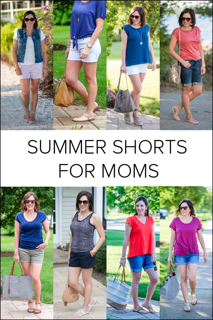 I'm sure many of you are in the same boat so I've rounded up some of the  best shorts for moms that are out there right now.
