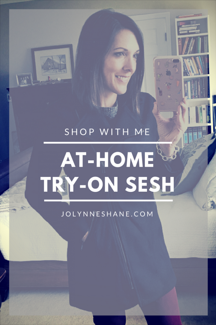 Shop With Me: At-Home Try-On Sesh