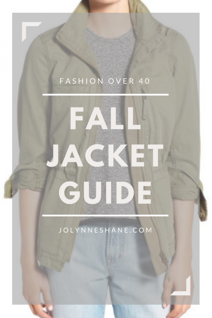 5 Fall Jackets Every Woman Should Own