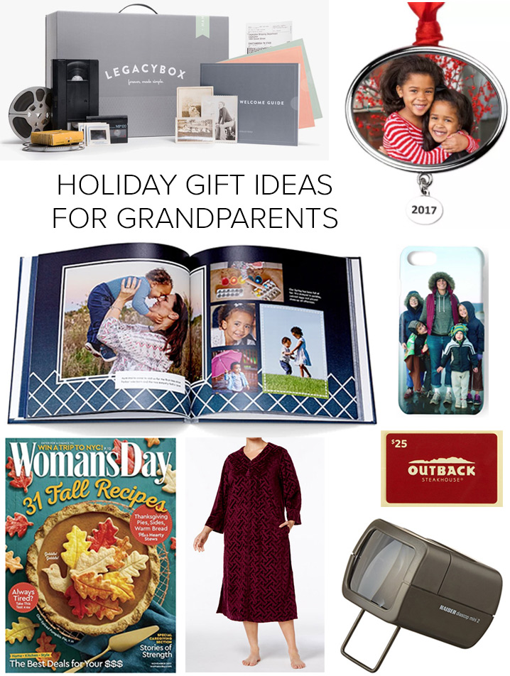 Holiday Gift Ideas for Grandparents