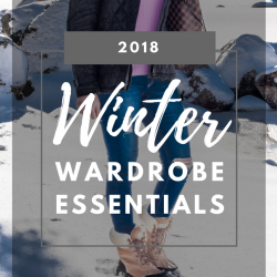 2018 Winter Wardrobe Essentials