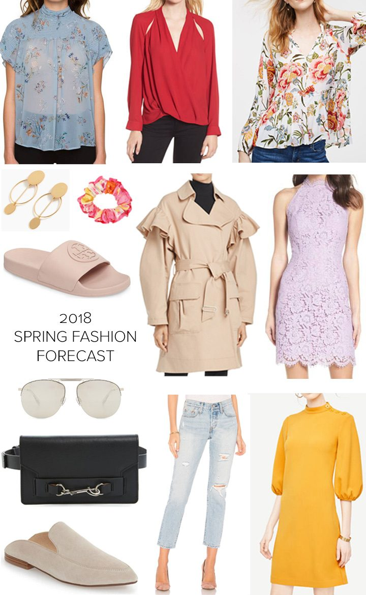 be89494deebc 2018 Spring Fashion Forecast  What s on trend for spring with pictures and  product links!