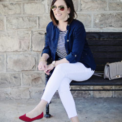 Red, White & Blue for Spring