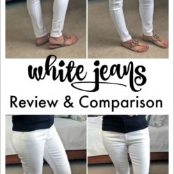 2018 White Jeans Review & Comparison
