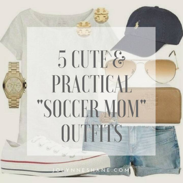 5 Cute & Practical Soccer Mom Outfits