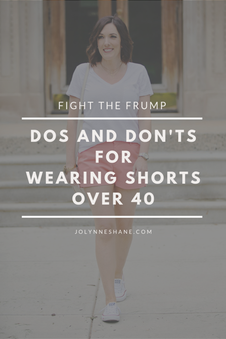 """50edd48829 One question I get a lot is, """"Is there an age at which a woman is too old  to wear shorts in public?"""""""