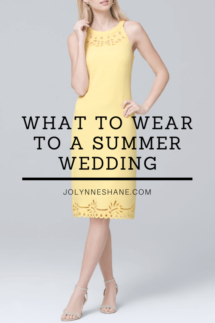 d673ca7222 What to Wear to a Summer Wedding