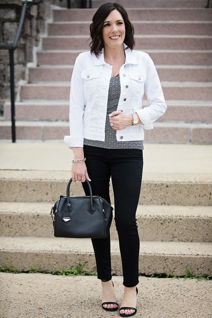 5 ways to wear black jeans for summer
