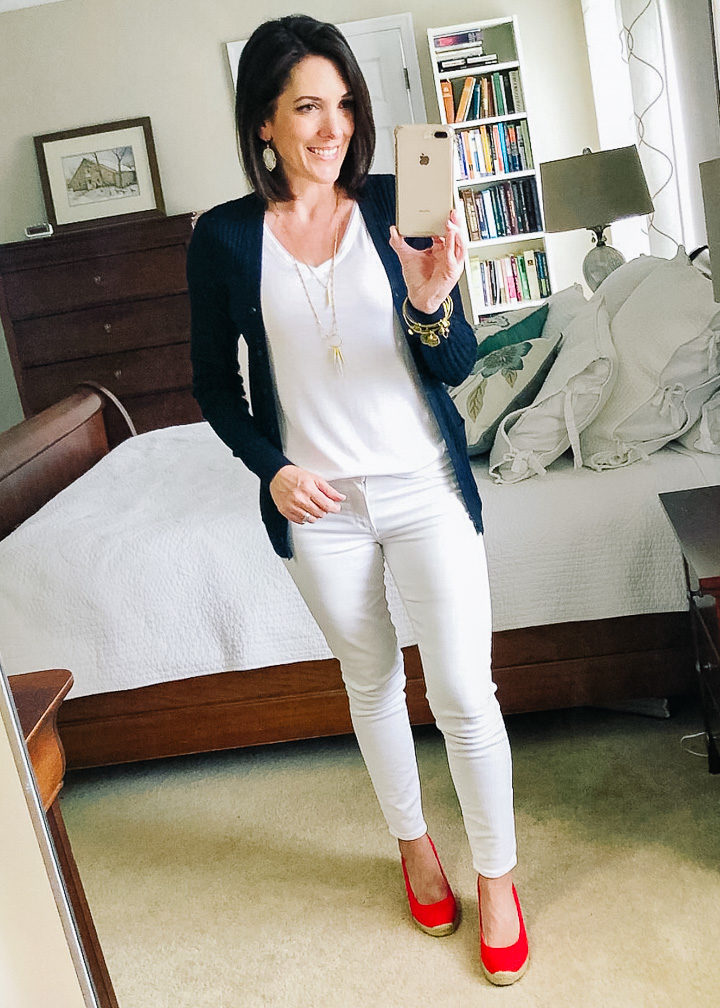 how to wear cardigans without looking frumpy