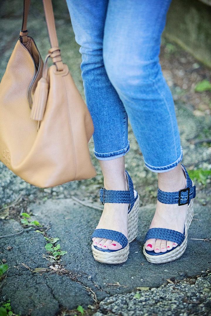Stuart Weitzman Alexis platform espadrille sandals