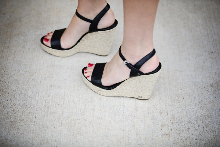 3aa1c49680b84 Michael Kors Jill Espadrille Wedge Sandals    These are a new wardrobe  addition this year