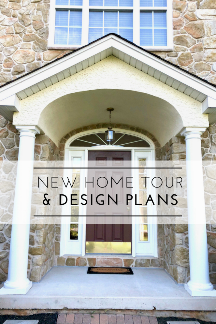 Home Tour & Design Plans: I'm basically walking you through the house and sharing my overall plans and ideas, both long-term and short term.