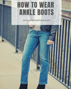How to Wear Ankle Boots {for 2018}