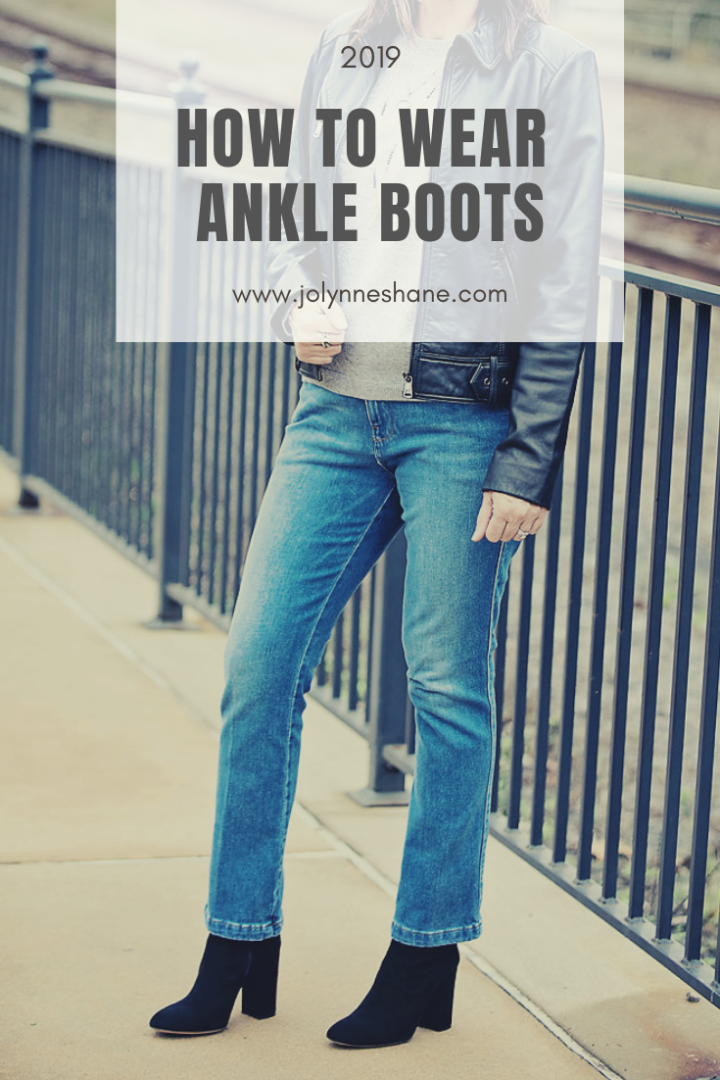 820634969a8757 How to Wear Ankle Boots for 2019 with real life examples! How to style  ankle. New Here??? This post is getting a ...