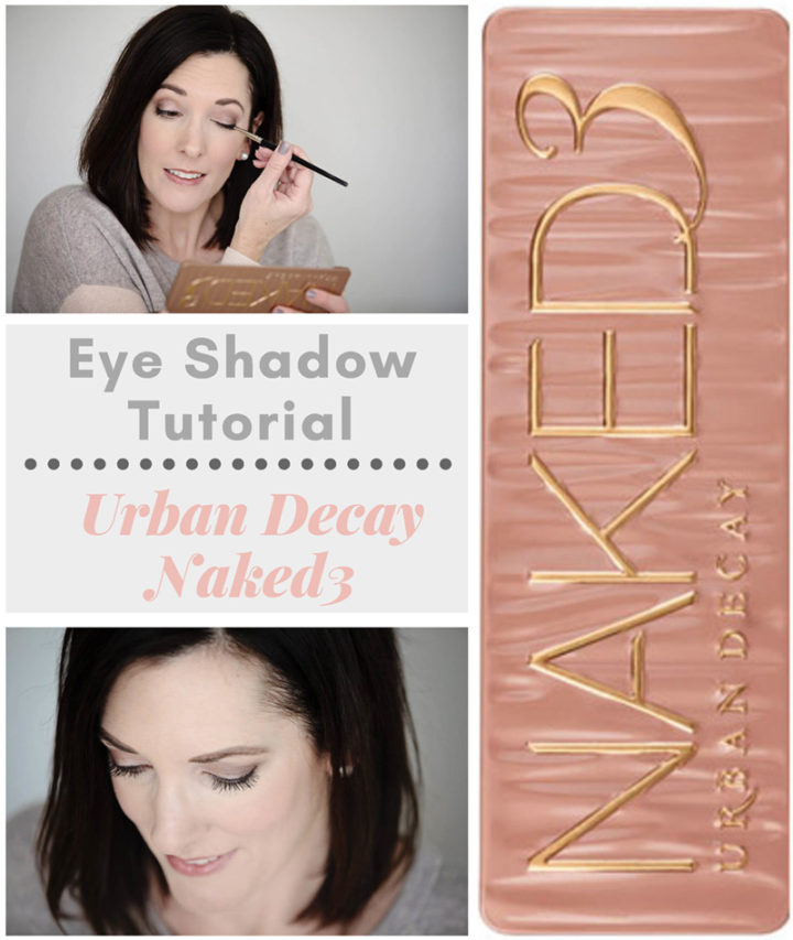 This is an easy eye shadow tutorial with Urban Decay Naked3 eye shadow palette. These rose-hued neutrals create such a fresh and pretty look for springtime!