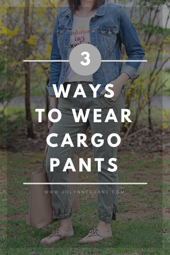 3 Ways to Wear Cargo Pants This Spring