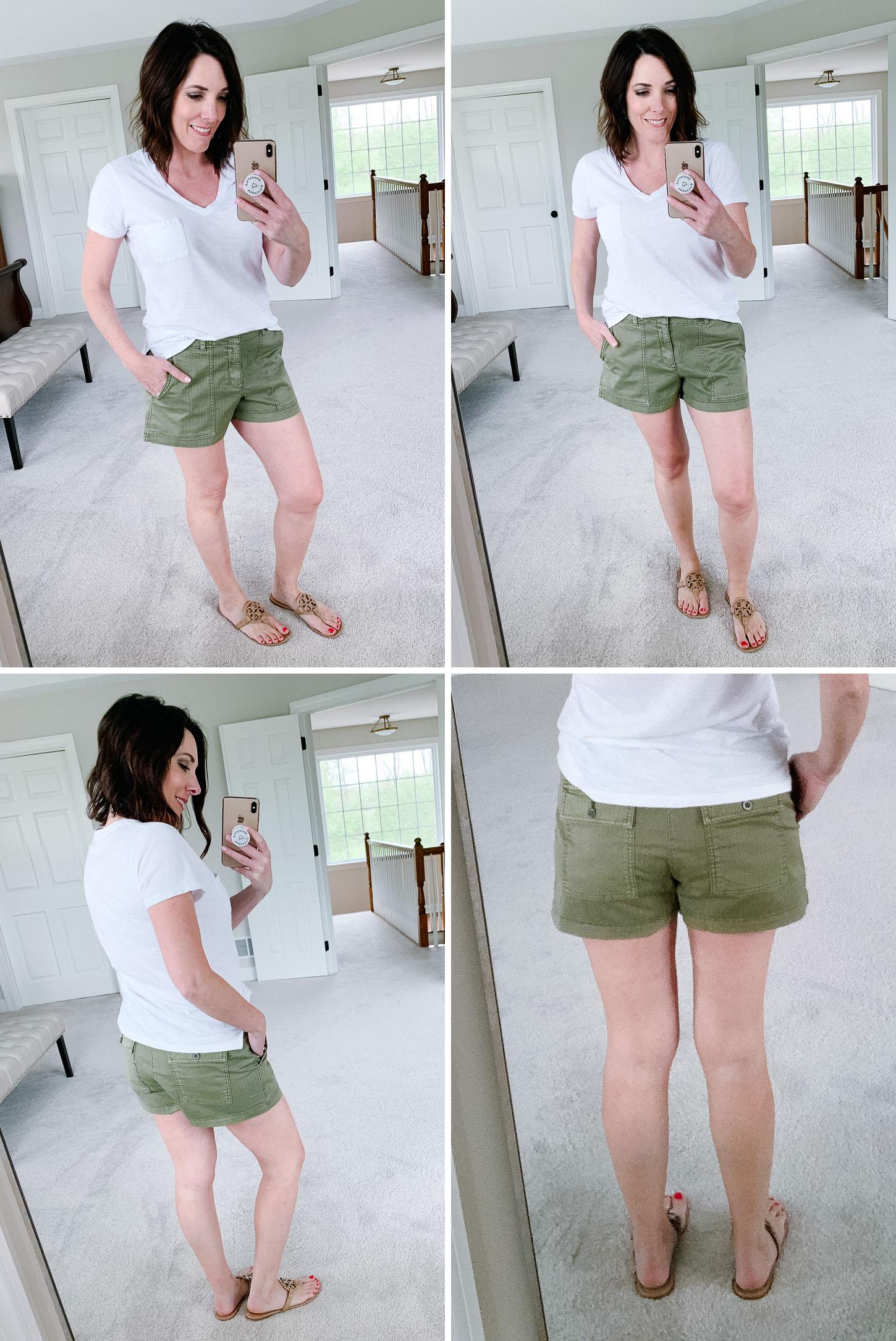 Summer Shorts Review: Gap Utility Shorts