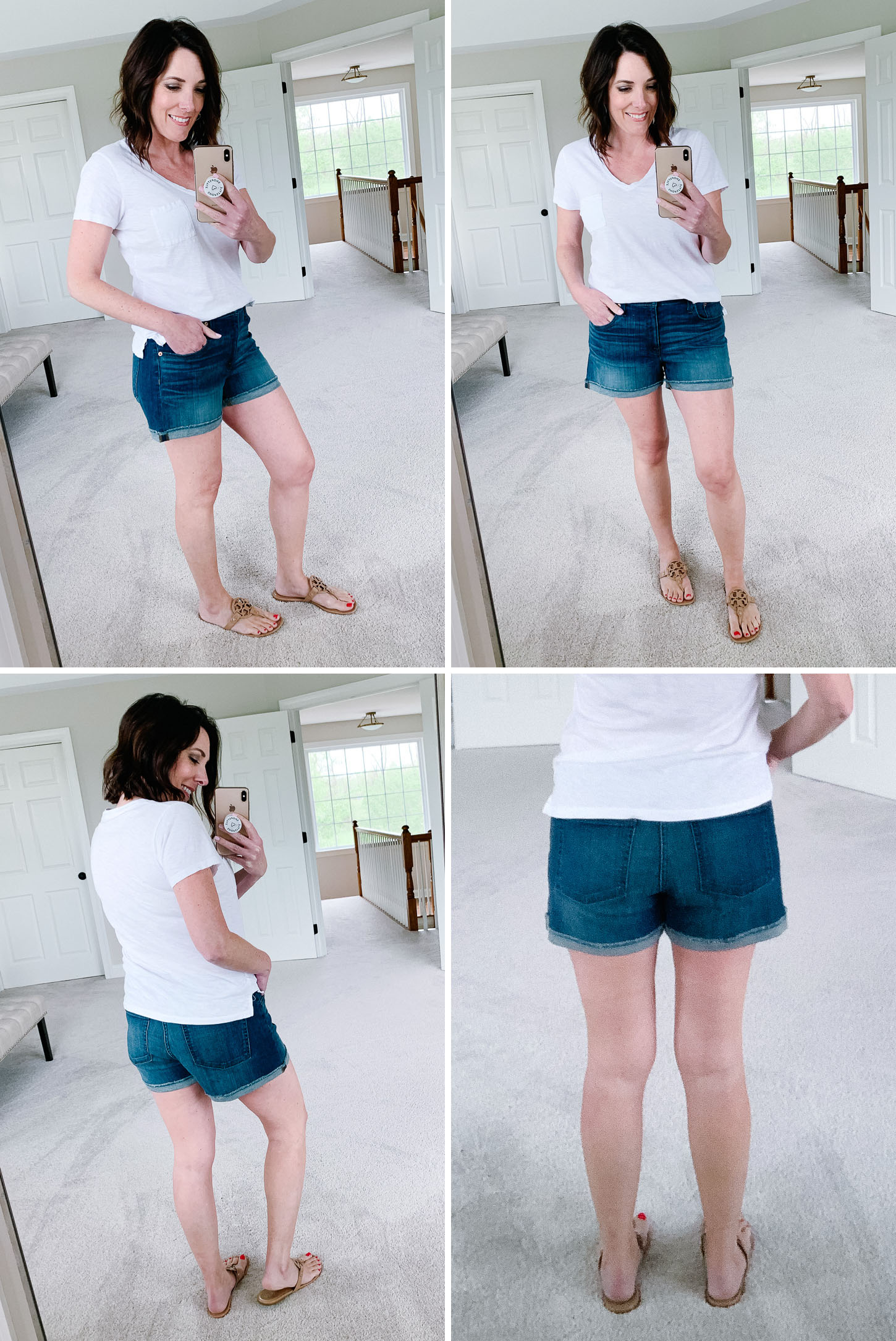 J.Crew Denim Shorts in Merrill Wash