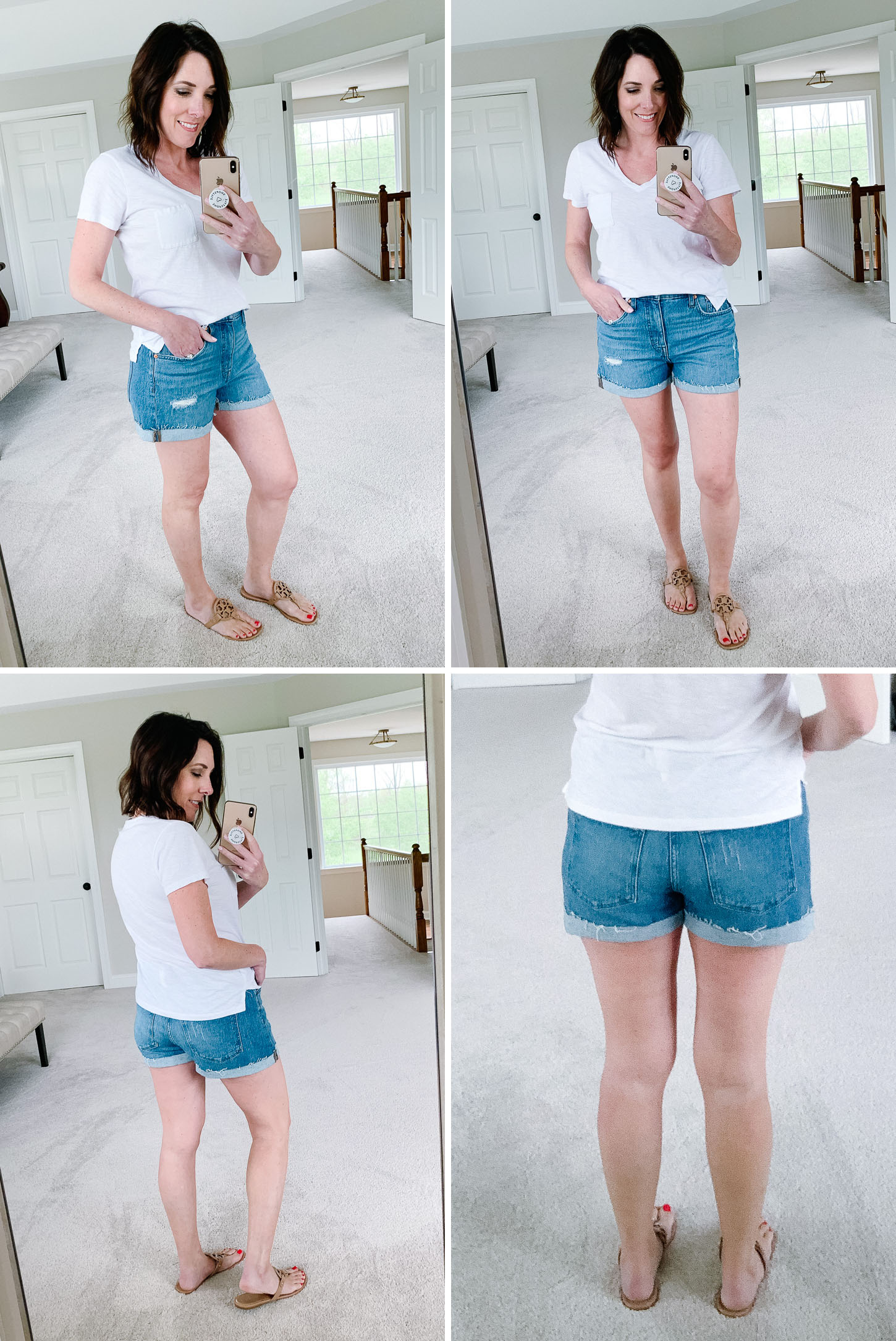 Summer Shorts Review: Madewell High-Rise Denim Shorts in Jordie Wash