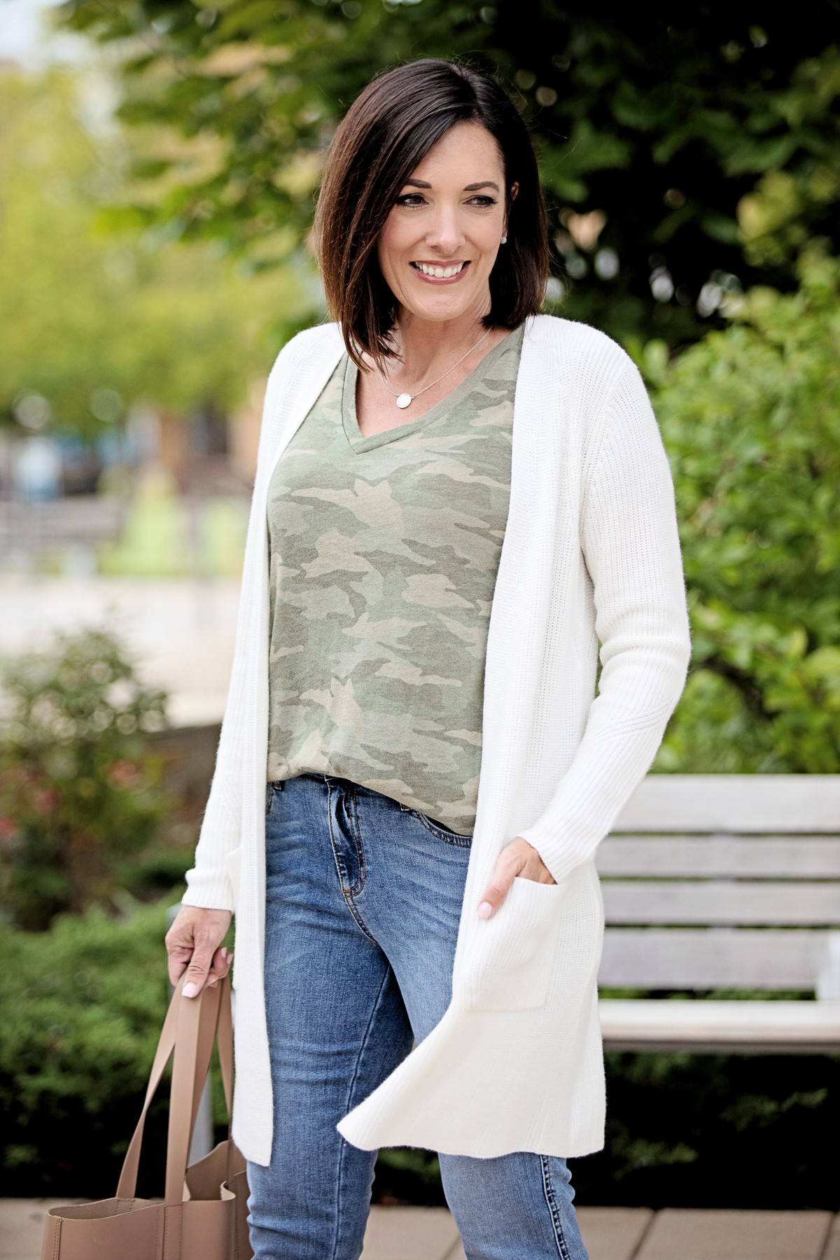 How to Wear Cardigans Without Looking Frumpy #FightTheFrump