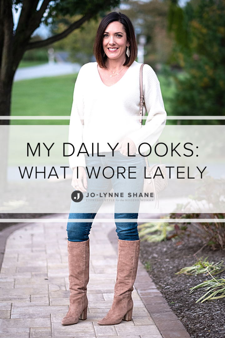 My Daily Looks: What I Wore Lately