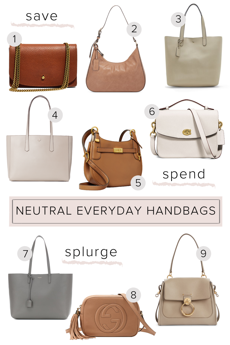Selling these beautiful neutral purses as a set They are the perfect accessory with just about any outfit!