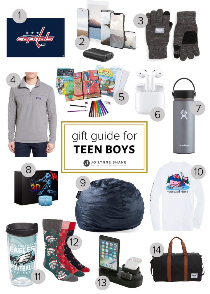 Holiday Gift Ideas for Teen Boys: 15 ideas for what to buy the teenage boys on your holiday gift list