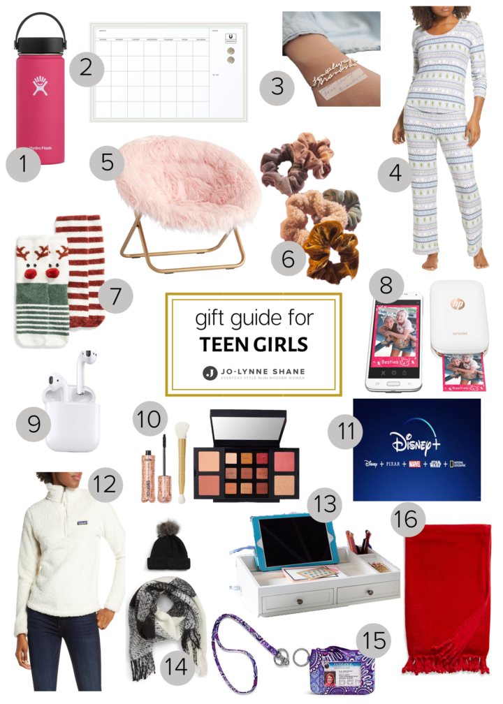 Holiday Gift Ideas For Teen Girls
