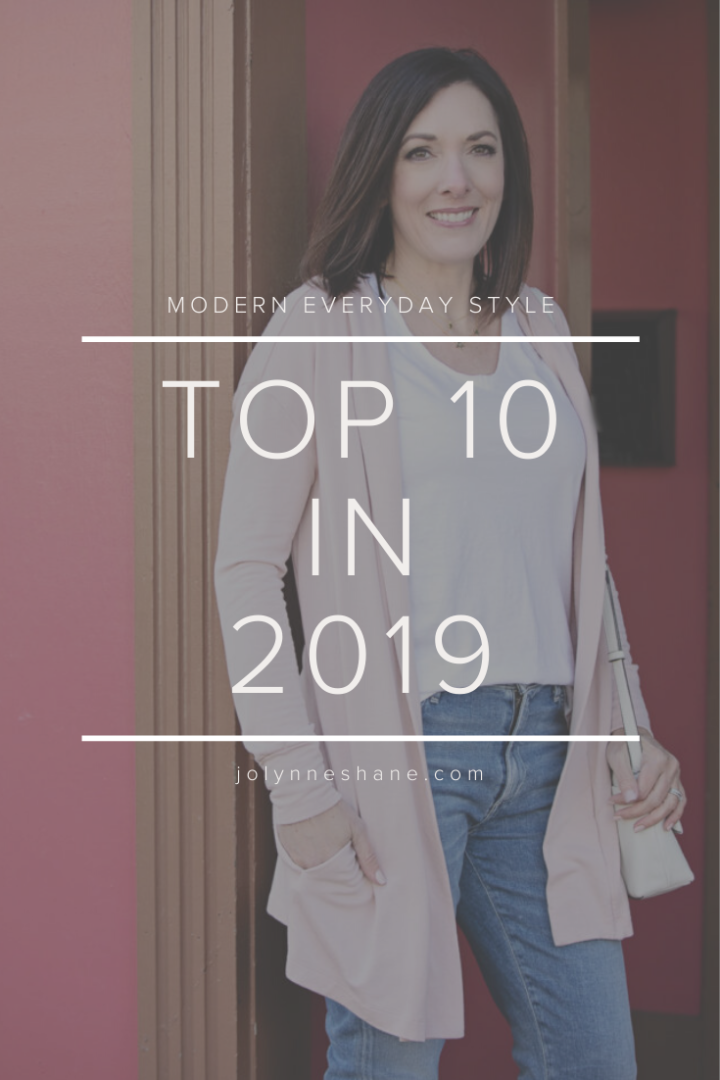 Top 10 in 2019: The 10 most popular products and post from my blog last year!