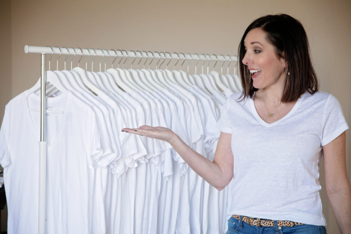White T-Shirt Review - I tried 20 T-Shirts for 2020 and I'm sharing the best white t-shirts for women!