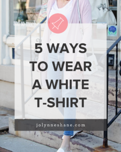 5 Ways to Wear a White T-Shirt