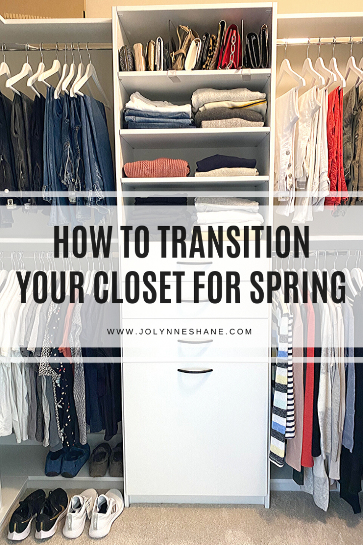 How to Transition You Closet from Winter to Spring