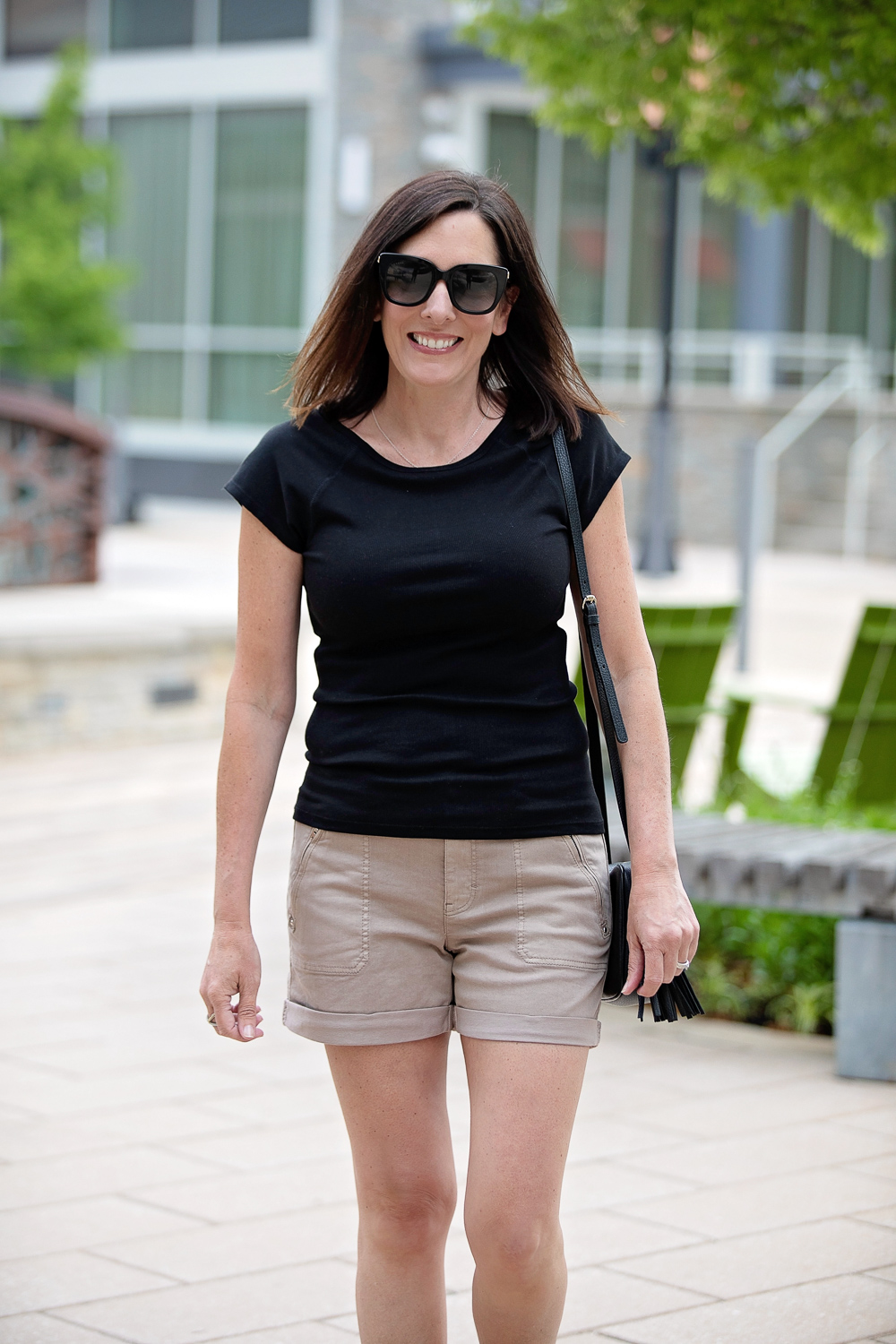 Tips for Wearing Shorts Over 40: Don't buy shorts that are too tight.
