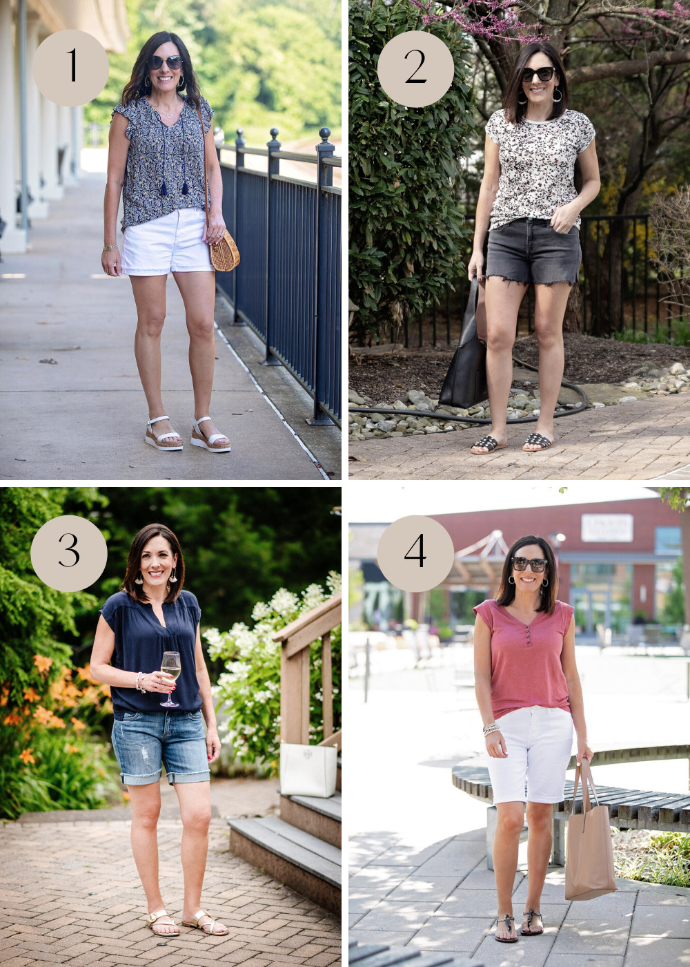 Tips for Wearing Shorts Over 40: Know your ideal inseam length.