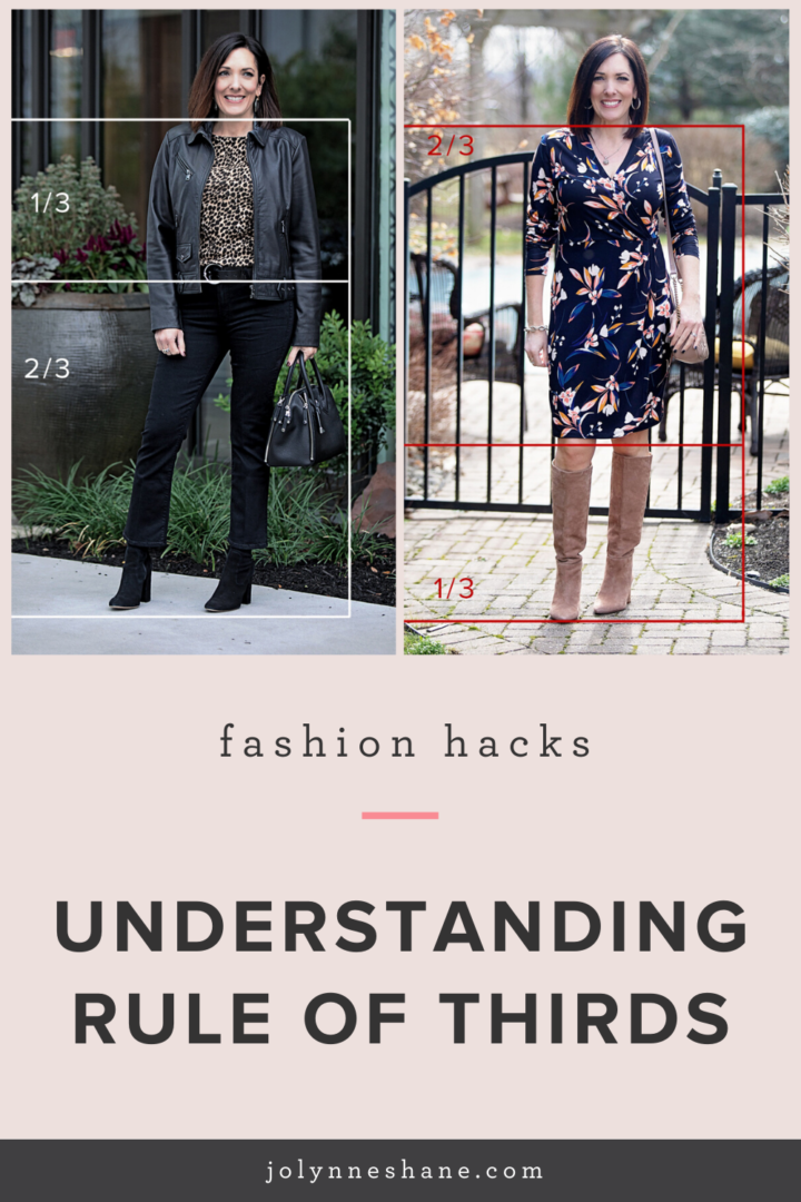 make a better outfit by understanding rule of thirds