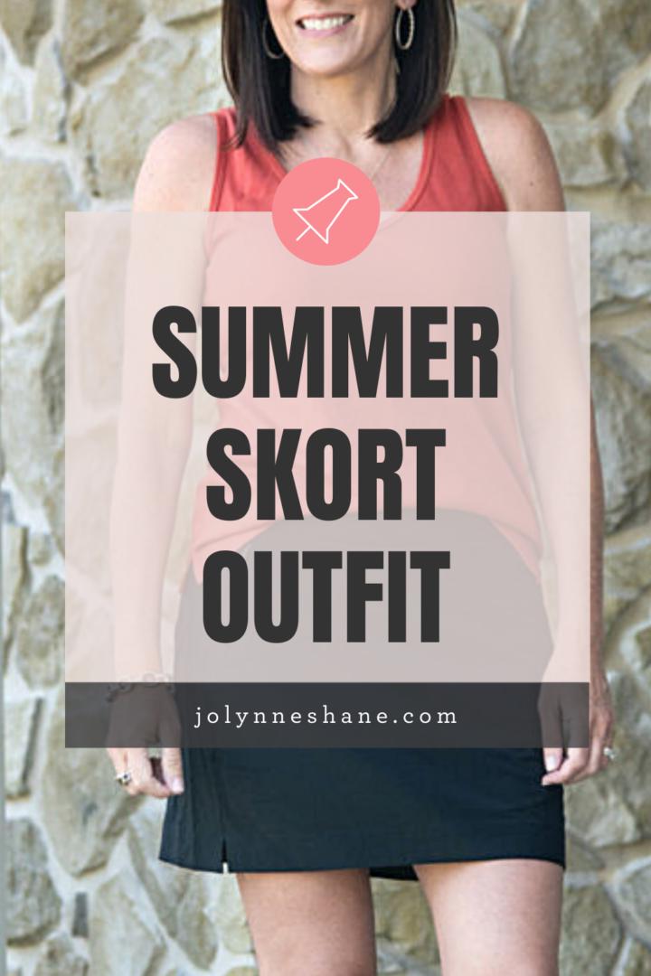 summer skort outfit