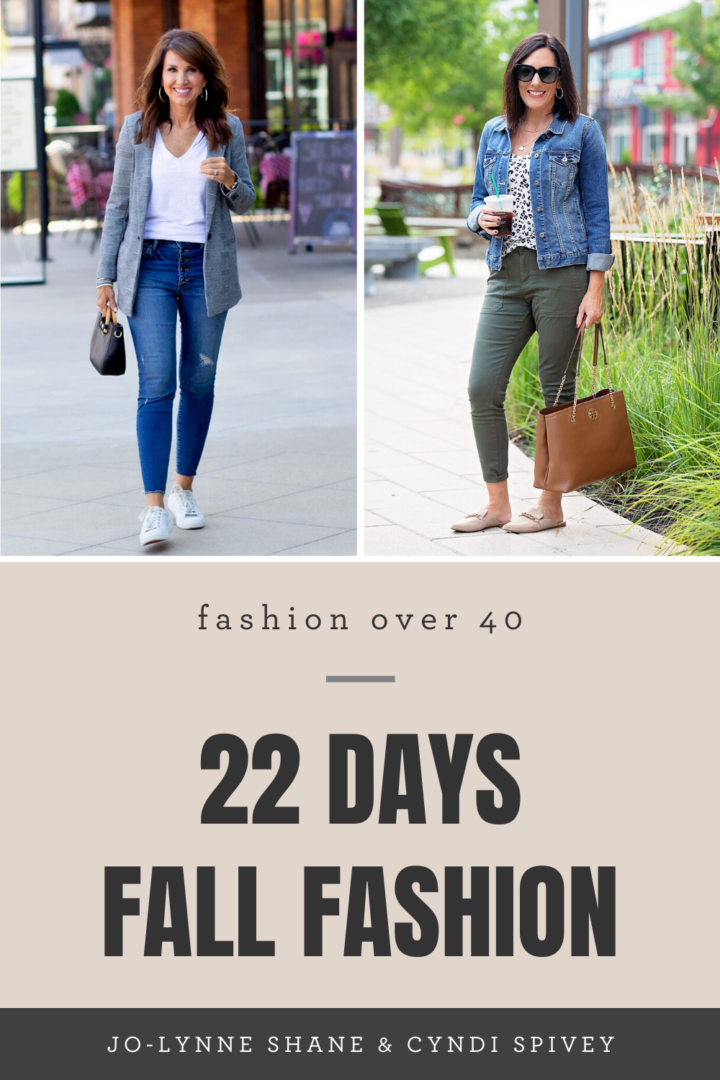 22 Days of Fall Fashion 2020 Jo-Lynne Shane Cyndi Spivey
