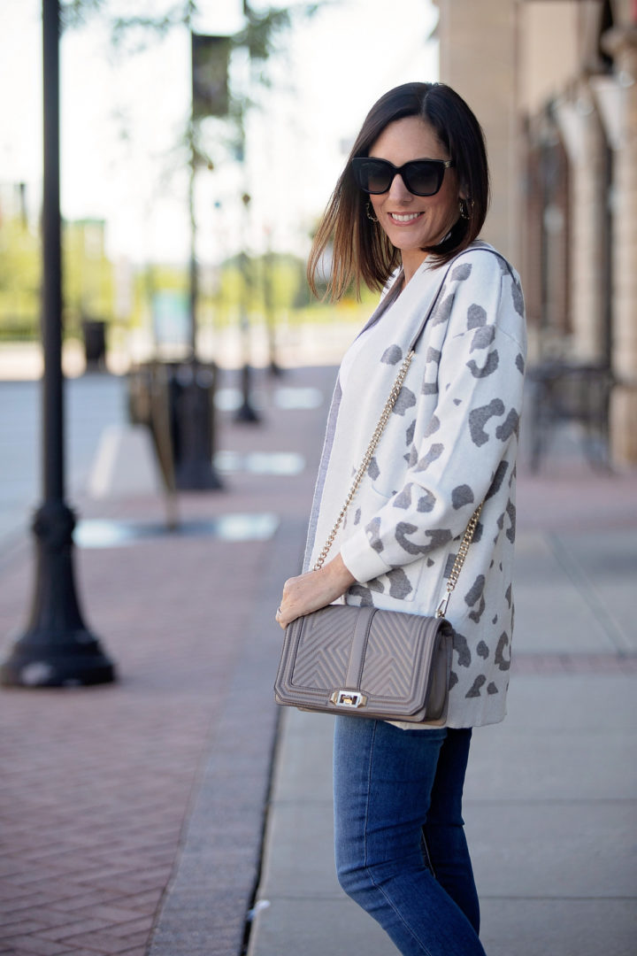 Budget-Friendly Leopard Cardigan from Amazon