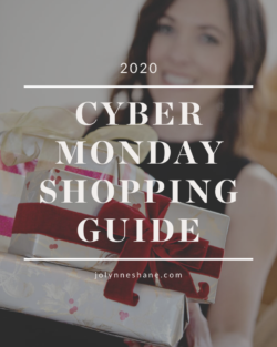 2020 Black Friday/Cyber Monday Shopping Guide