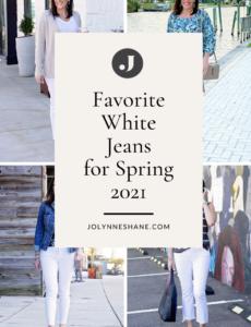 Favorite White Jeans for Spring 2021