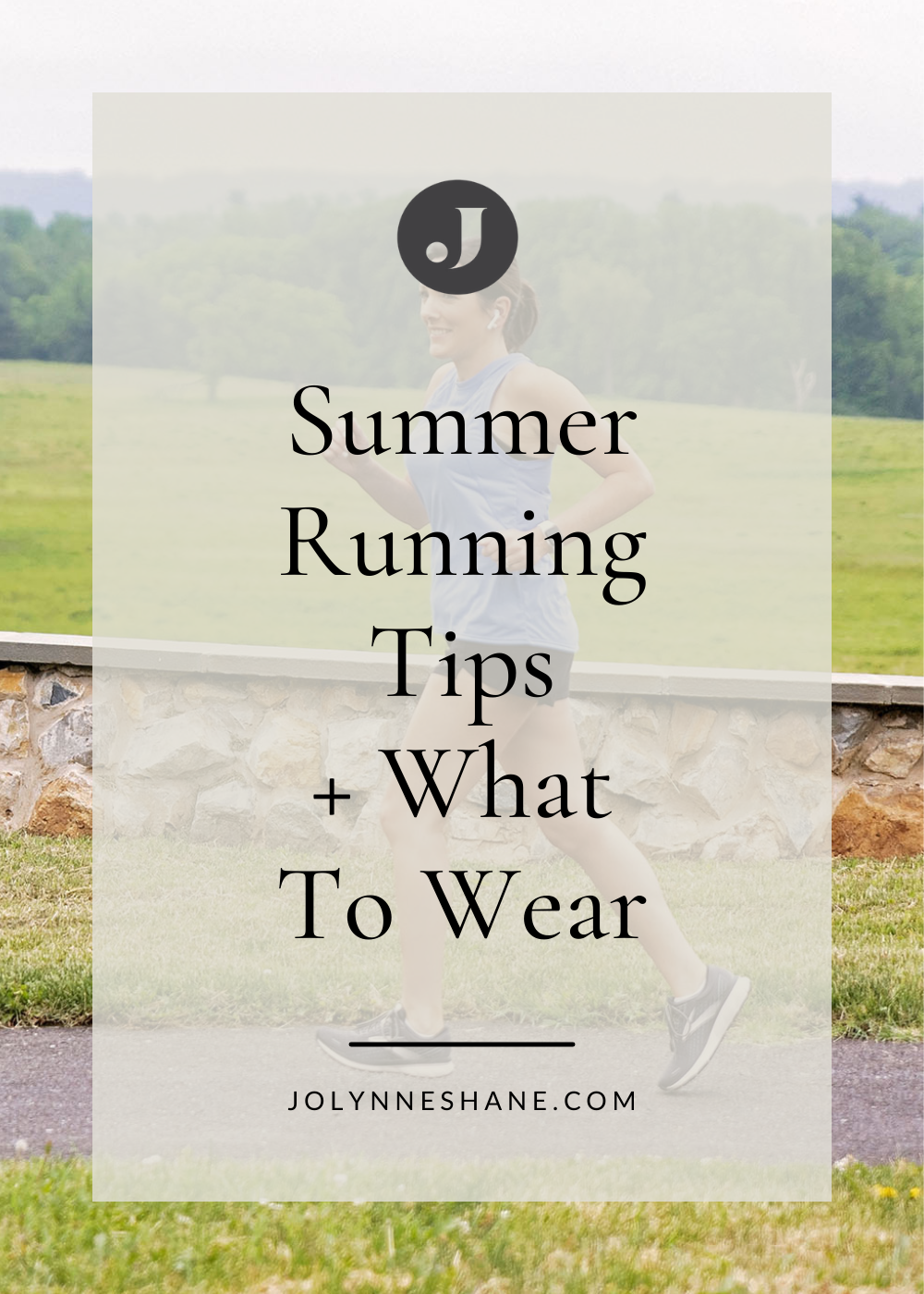 summer running tips and what to wear